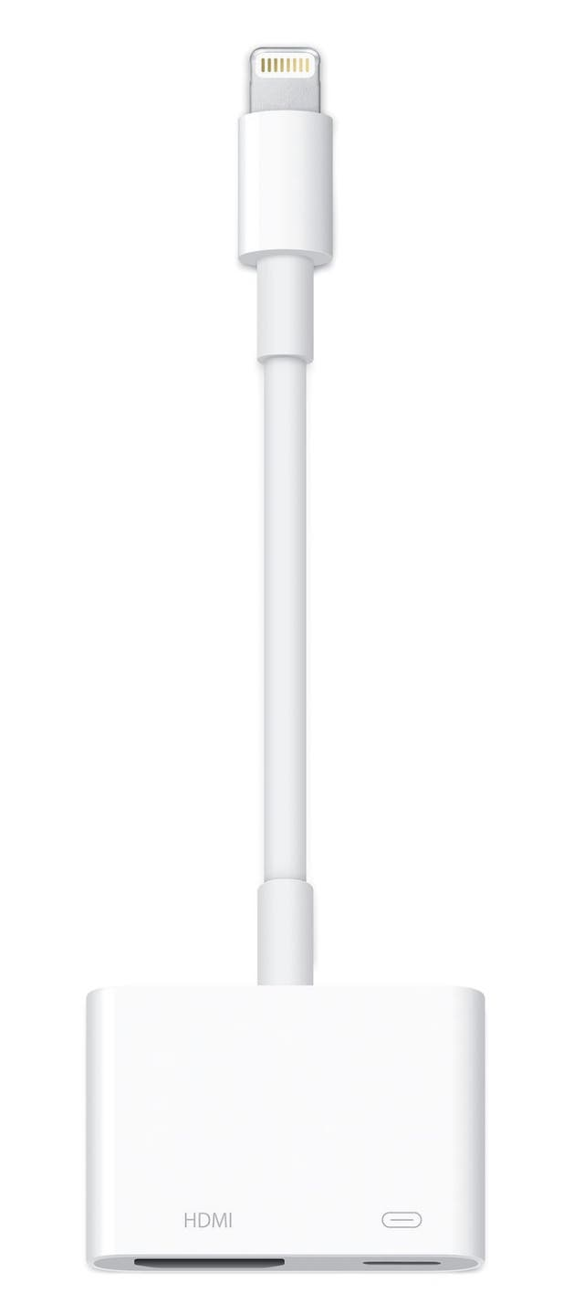 Adaptador Apple de conector Lightning a AV digital