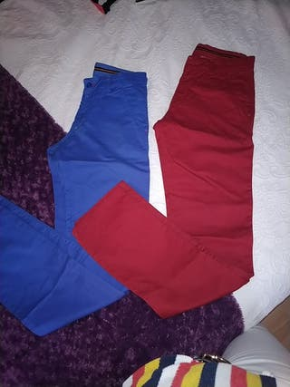 lote pantalones chinos caballeros