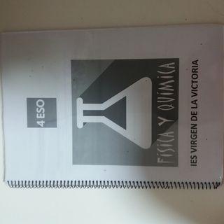 libro de fisica y quimica de 4 de eso
