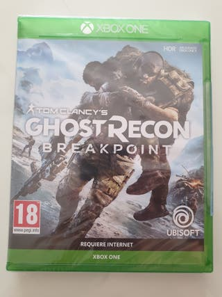 ghost recon breakpoint xbox one precintado