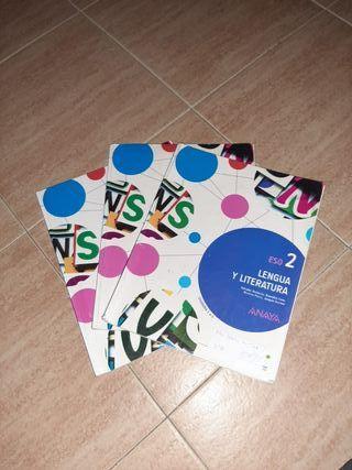 Libros Lengua y Literatura 2°ESO