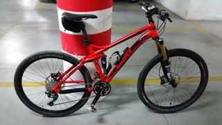 Bicicleta mtb ghost asx doble suspensión