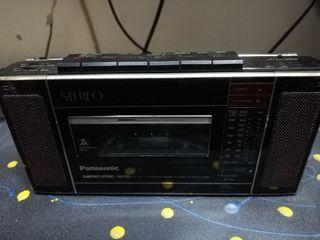 mini radiocassette panasonic