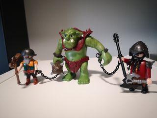 Playmobil :Trol +2 guerreros
