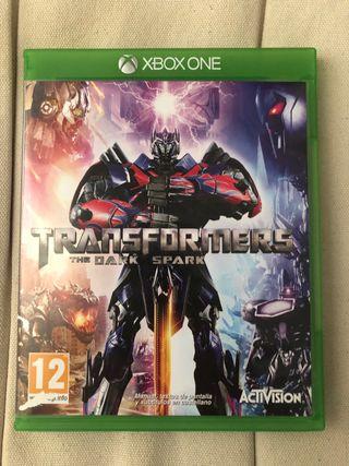 Videojuego Transformers The Dark Spark