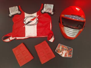 traje disfraz power rangers