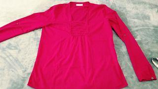 Blusa roja Amichi talla M (40)