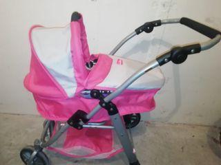 carro de bebe de juguete