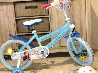 Bicicleta de Frozen