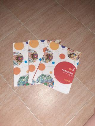 Libros Matemáticas 2°ESO