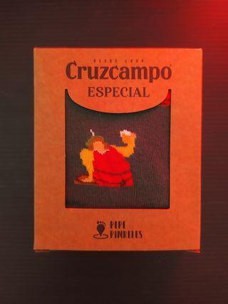 calcetines cerveza Cruzcampo