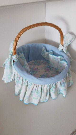 cesta cositas bebé