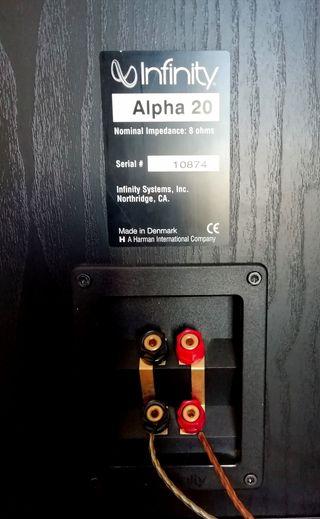 INFINITY HIFI 400W ALPHA 20