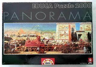 Puzzle 2000 piezas precintado.