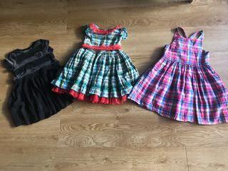 Lote ropa marca 3 vestidos talla 5
