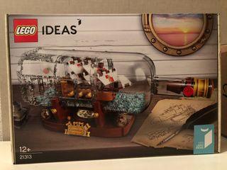 LEGO 21313 BARCO EN UNA BOTELLA IDEAS