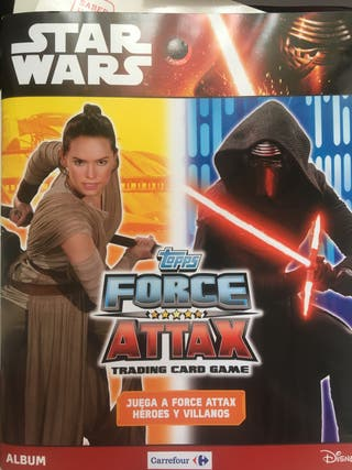 Cromos Star Wars Topps Force Attax Carrefour