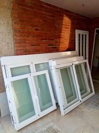 Ventanas aluminio blanco