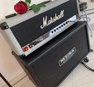 Cabezal Marshall + Pantalla Mesa Boogie