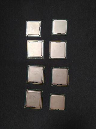 lote 15 procesadores Xeon Intel