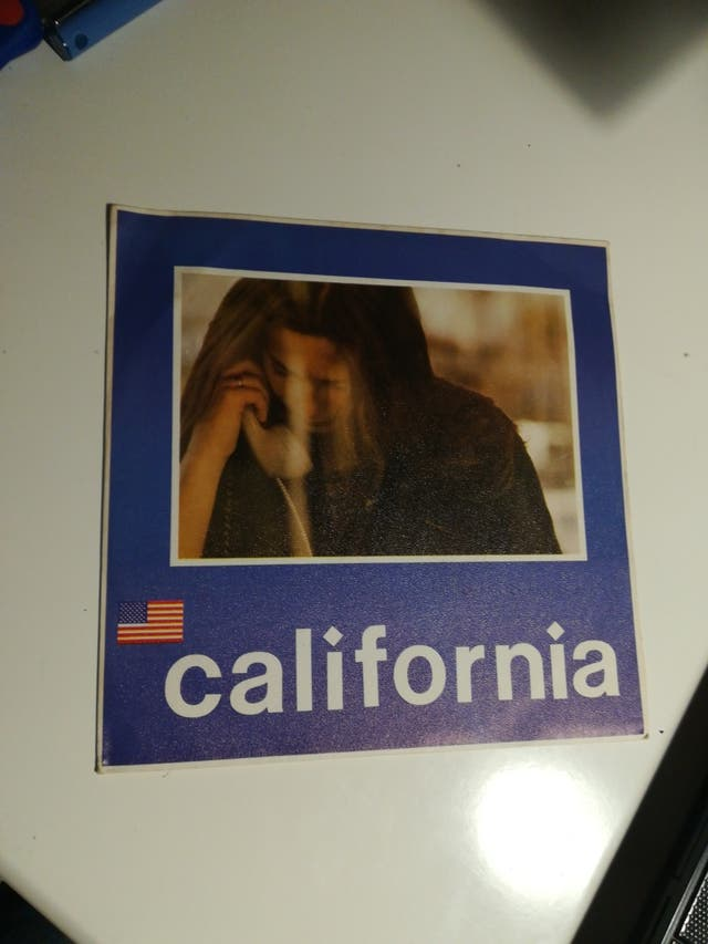 California llámame. Single.