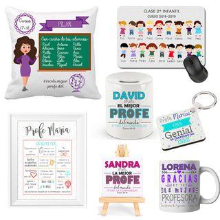 Regalos personalizados para profesores / maestros