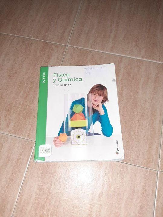 Libro Física y Química 2°ESO