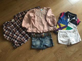 Lote ropa marca talla 4