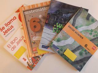 Libros de texto 6° de primaria en perfecto estado