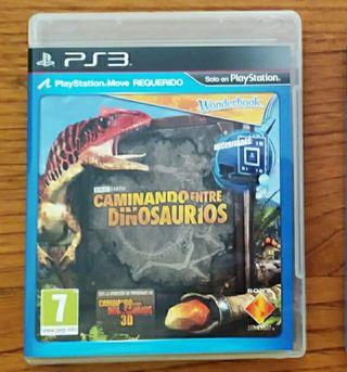 Caminando entre dinosaurios PS3 juego