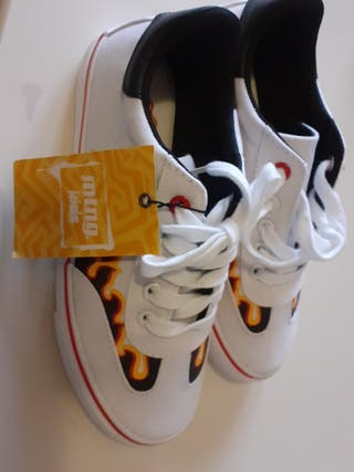 Zapatillas Tenis Niño Talla 34