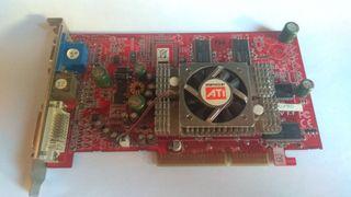 Tarjeta gráfica ATI Radeon 9600 pro 256mb