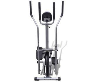 Bicicleta elíptica con 4 sensores de pulso