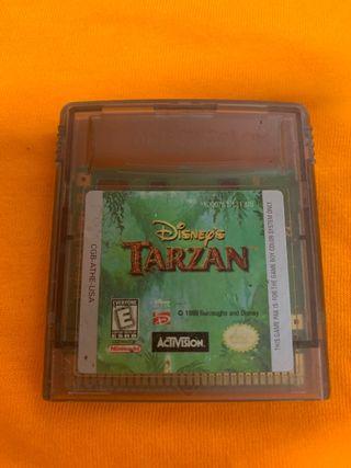 Tarzan gameboy
