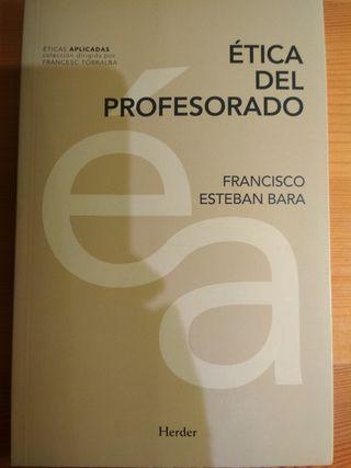 libro Ética del Profesorado