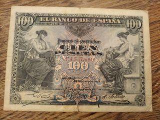 100 pesetas 1906