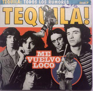 CD Single Tequila Me vuelvo loco