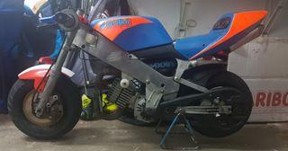 moto polini refrigeración por aire