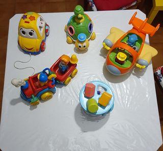 vendo juguetes para Bebé