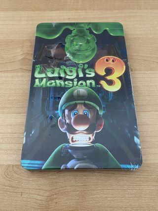 LUIGIS MANSION 3 STEELBOOK NINTENDO SWITCH