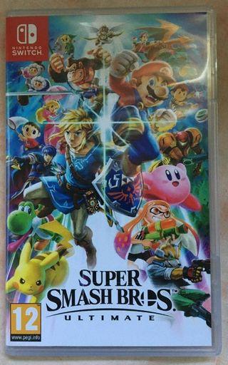Súper Smash Bros Ultimate Nintendo Switch