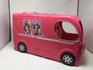Pack caravana Barbie y crucero Playmobil