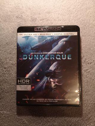 Dunkerque bluray 4K Ultra HD