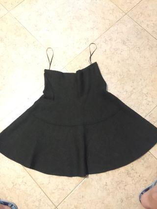 Falda de punto suave