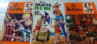 3 libros serie Los Hollister