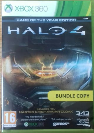Halo 4 Xbox 360 Game of the year edition