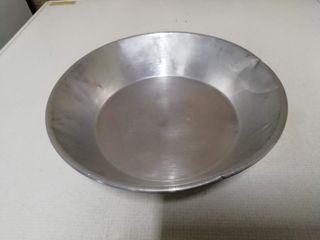plato aluminio antiguo