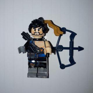 HANZO (OVERWATCH LEGO)
