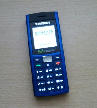 Móvil Samsung SGH C-170. MOVISTAR
