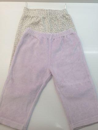 Pantalones pijama niña 12 meses